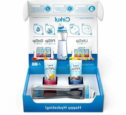Cirkul Water Bottle 22 oz Free Shatter Proof + 2 Flavor Cart