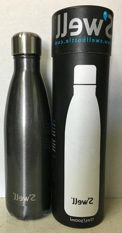 S'well Vacuum Insulated Stainless Steel Water Bottle, 17 oz,