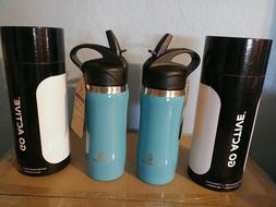 Go Active Insulated Stainless Steel Water Bottle, 16 oz 2 fo
