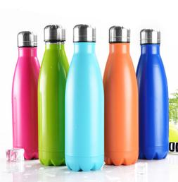 Insulated Stainless Steel Water Bottle Double Walled Tumbler