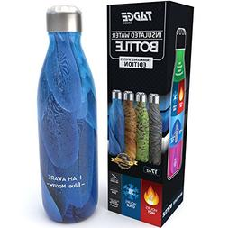 Tadge Goods Insulated Stainless Steel Water Bottle - Endange