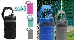 Insulated Wall Water Bottle Thermo w/ handle Bpa Free  64oz/