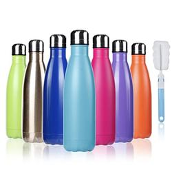 BOGI 17oz Insulated Water Bottle Double Wall Vacuum Stainles