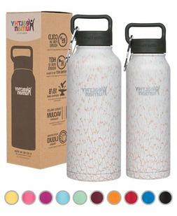 Healthy Human Insulated Water Bottle - Double Walled Sports