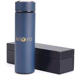 EFOSHM insulated water bottle Flask Thermos Stainless Steel