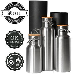 Insulated Water Bottle 34oz Vacuum / 1 Liter Thermo Insullat