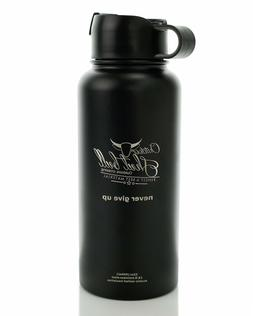 32 Oz Insulated Water Bottle Wide Mouth 32oz Double Wall Vac