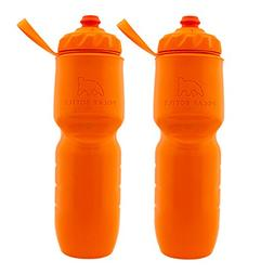 Polar Bottle Insulated Water Bottle 24oz , Tangerine, 24 oz