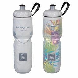 Polar Bottle Insulated Water Bottle - 24 oz, Starburst / Whi
