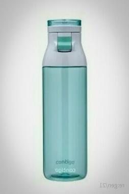 Contigo Jackson Reusable Water Bottle, 24oz, Grayed Jade