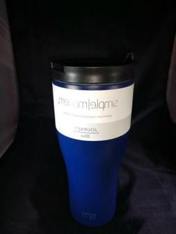 Journey Simply Modern 20oz premium insulated water bottle.