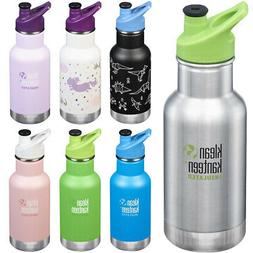 Klean Kanteen Kid Classic 12 oz. Insulated Bottle with 3.0 S