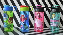 Kids 16oz School Water Bottle Spill Resistant- Mermaids, Uni