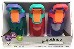Contigo Kids Autospout Gizmo Water Bottles 14 oz, Sprinkles/