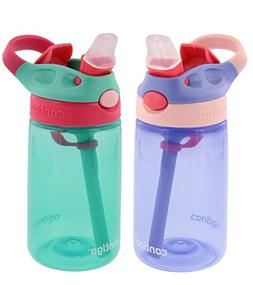 Contigo Kids Autospout Gizmo Water Bottles, 14oz  - 2 Pack
