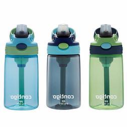 Contigo Kids Autospout Water Bottle, 3-piece Blue, ** FREE S