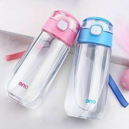 Kids Boys Girls Sport School Drinking Juice Water Bottle Cup