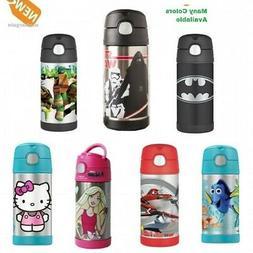 Thermos Kids Water Bottle 12 Oz Stainless Steel Vacuum Schoo