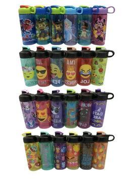 Cool Gear Zaks Kids Water Bottle 16 Oz BPA Free Choose Desig