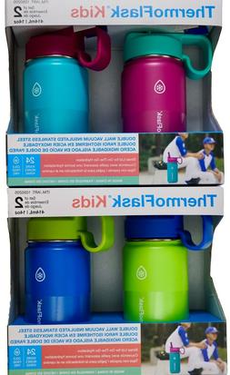 ThermoFlask Kids Water Bottle Double Wall Vacuum Insulated S
