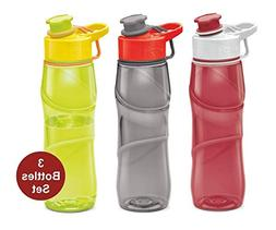 Kids Water Bottle Milton 3 Pack Triton 25 Oz Large Sports Wa