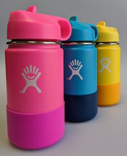 Hydro Flask Kids Wide Mouth Stainless Steel Water Bottle Wit