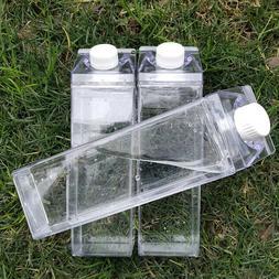 Kitchen Leakproof Creative Transparent Clear Milk Water Bott