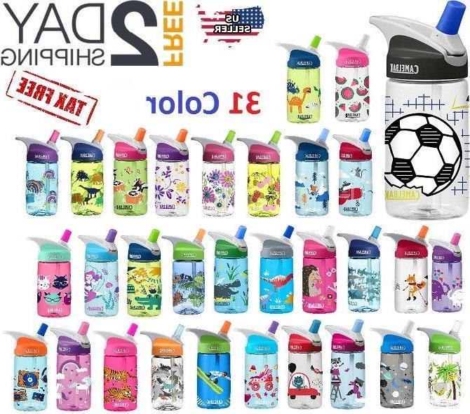 12 Oz Kids Water Bottle  Insulated Camelbak Eddy 100% Free B