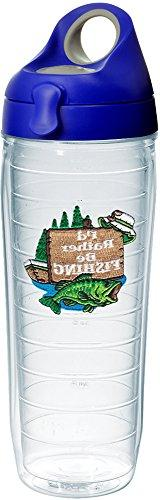 Tervis 1231562 I'd Rather Be Fishing Tumbler with Emblem and