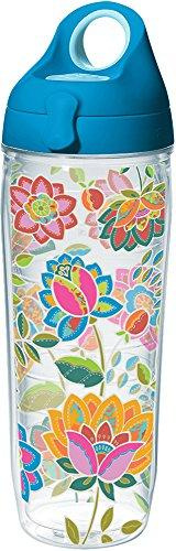 Tervis 1231962 Boho Floral Chic Tumbler with Wrap and Turquo