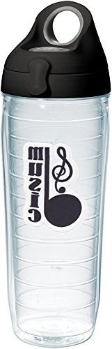 Tervis 1232145 Music Note - Clef Tumbler with Emblem and Bla