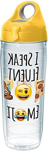 Tervis 1232810 emoji - I Speak Fluent Tumbler with Wrap and