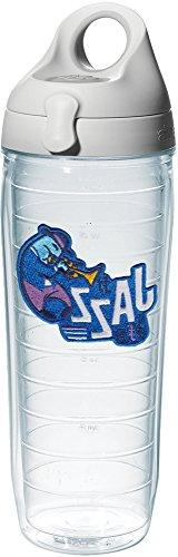 Tervis 1242891 Jazz Insulated Tumbler with Emblem and Gray L