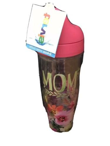 Tervis 1242903 Mom - Watercolor Floral Tumbler with Wrap and