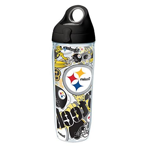 Tervis 1248055 NFL Pittsburgh Steelers All Over Tumbler with
