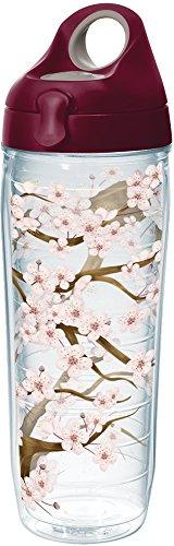 Tervis 1250694 Cherry Blossom Insulated Tumbler with Wrap an