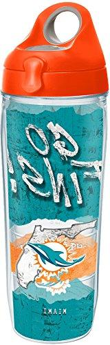 Tervis 1252044 NFL Miami Dolphins NFL Statement Tumbler with