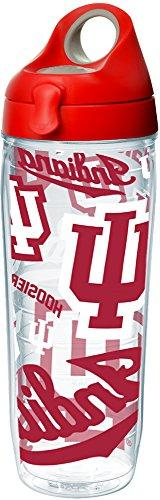 Tervis 1258227 Indiana Hoosiers All Over Insulated Tumbler w