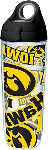 Tervis 1258254 Iowa Hawkeyes All Over Insulated Tumbler with