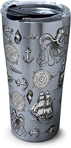 Tervis 1277999 Old Time Nautical Stainless Steel Tumbler wit