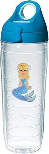 Tervis 1280563 Blue Sequins Mermaid Insulated Tumbler with E