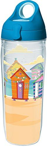 Tervis 1284934 Bright Cabanas Tumbler with Wrap and Turquois