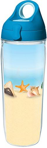 Tervis 1284943 Shells on the Beach Tumbler with Wrap and Tur