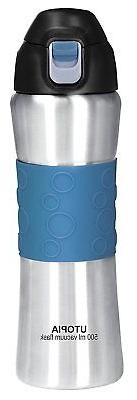 16oz Stainless Steel Vacuum Insulated Water Bottle Sports Bo