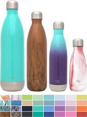 Simple Modern 17oz Wave Water Bottle - Vacuum Insulated Doub