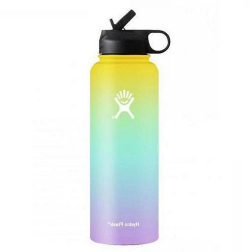 18/32/40oz Flask Mouth Stainless Steel Water