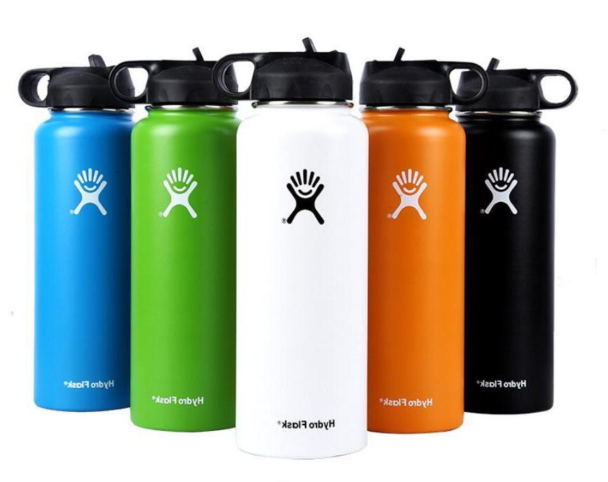 18/32oz/40oz Hydro Flask Water Bottle Stainless Steel Insula