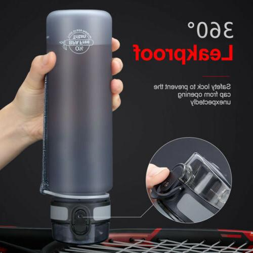 1L Outdoor Sport Bottle Portable Travel Water Drinking Cup L