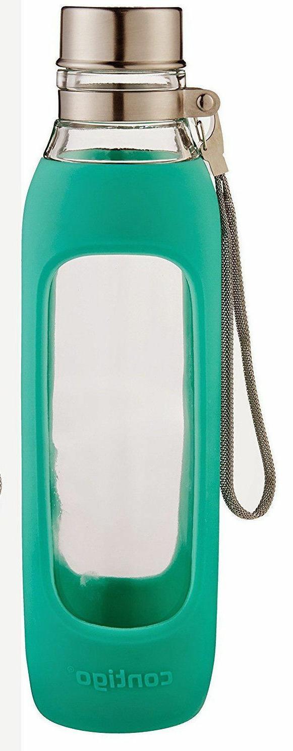 Contigo Glass Water Bottle, 20-Ounce