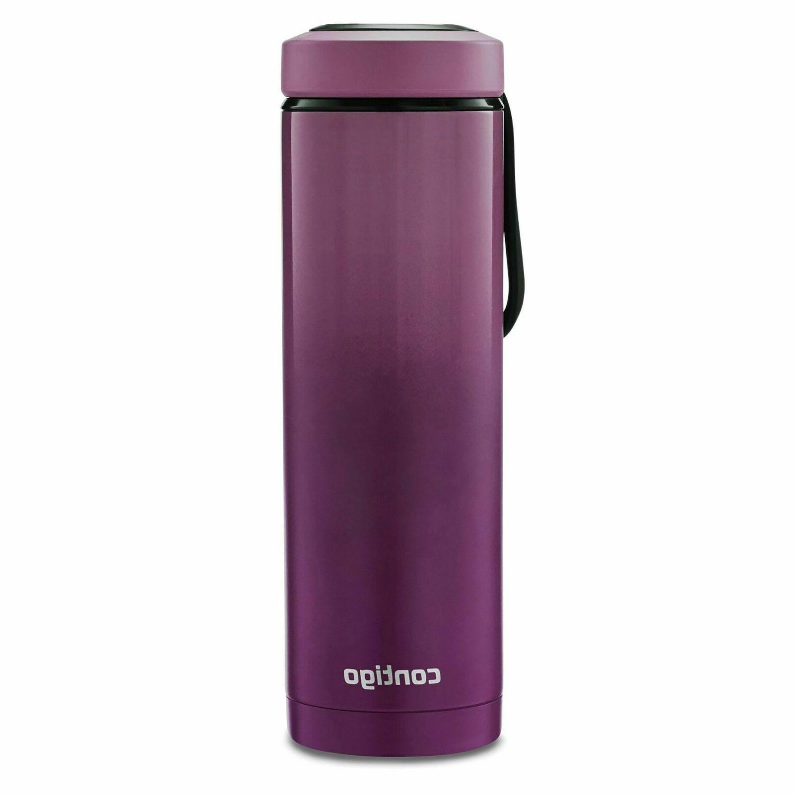 Contig Vacuum-Insulated Stainless Steel Water Bottle with a